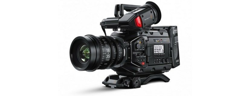 Ursa Mini Pro with evf and shoulder