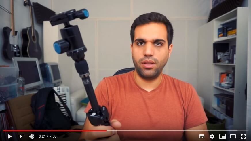 Tripod for vlog shooting
