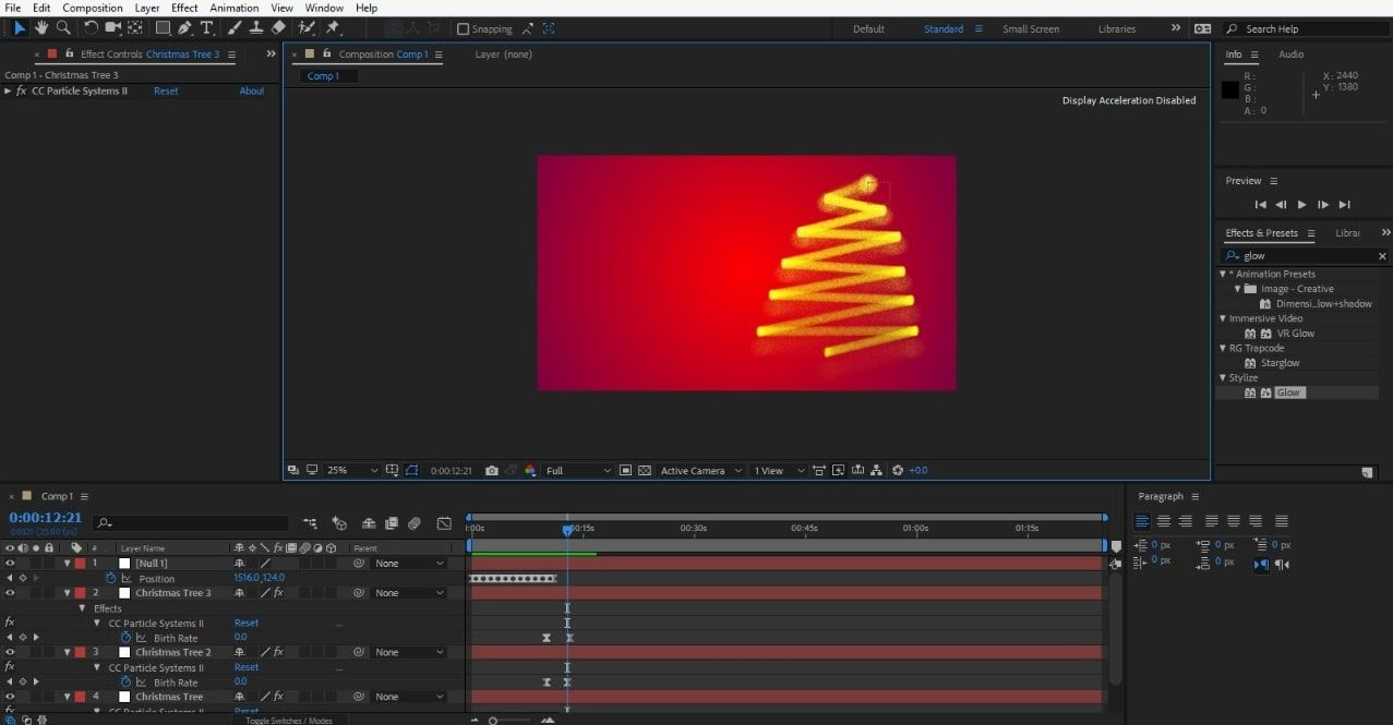 Animating the Tree
